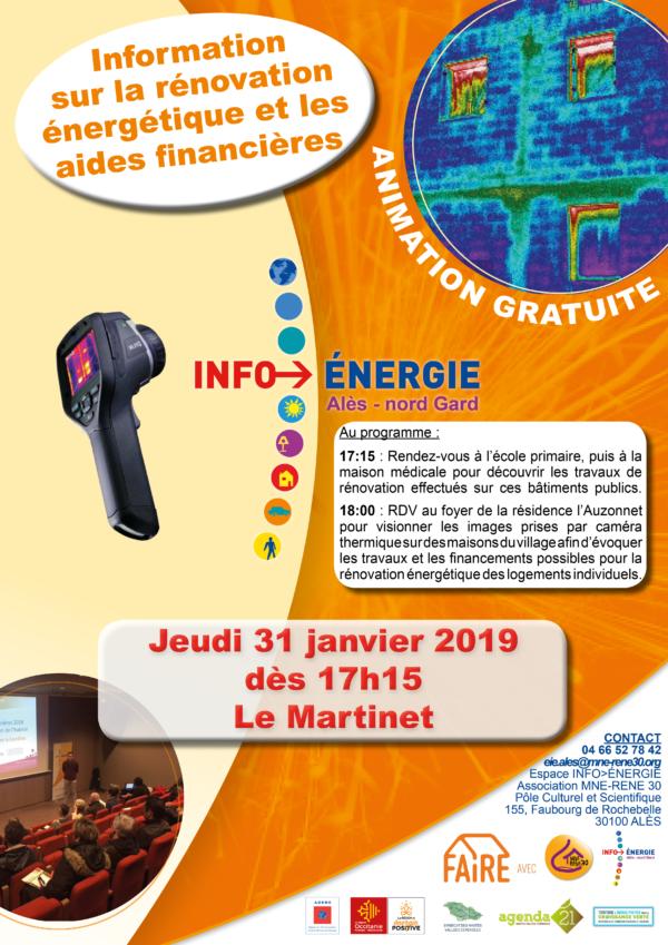 Animation - information sur la rénovation énergétique et les aides financières