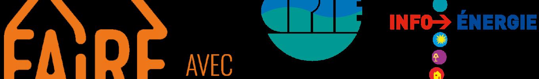 Trio logo FAIRE-CPIE30-EIE orange