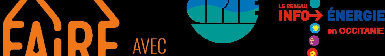 Trio logo FAIRE-CPIE30-EIEOc orange